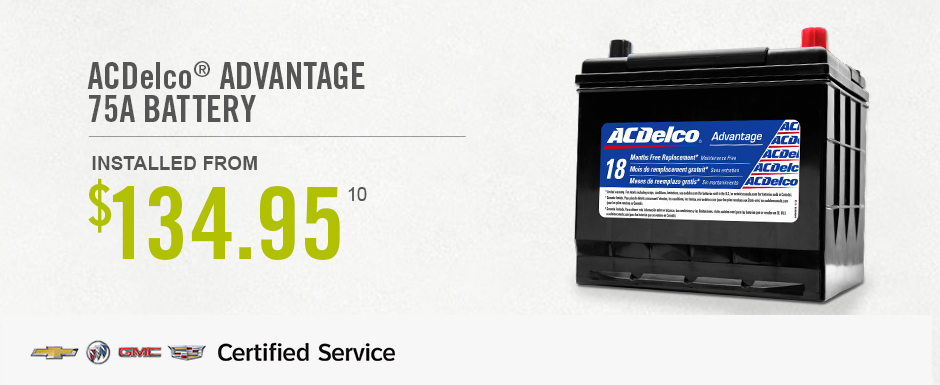 AC Delco Advantage Battery Ajax Durham Region Scarborough Oshawa
