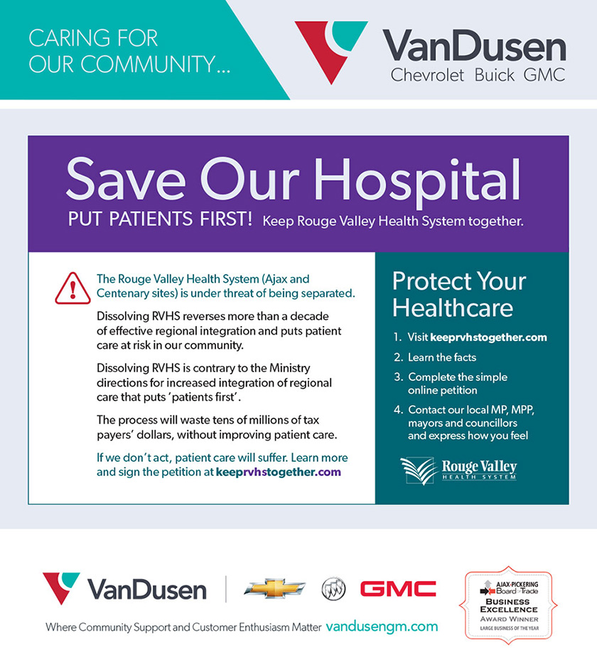 Save Rouge Valley Health System