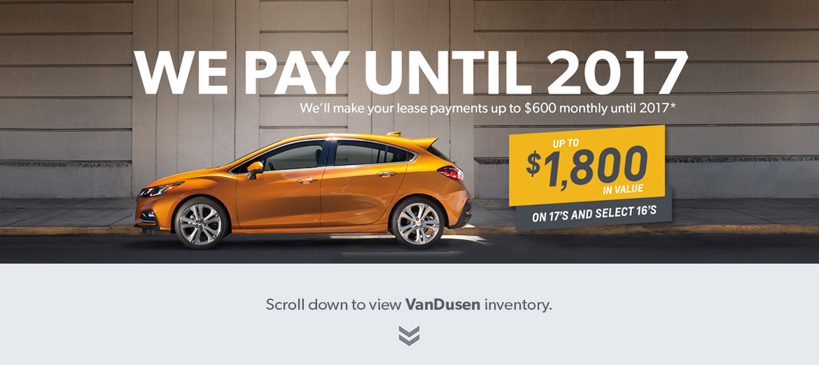 We Pay Until 2017