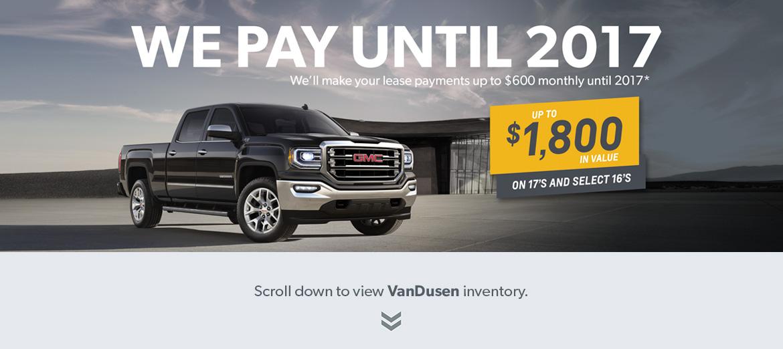 GM Truck Specials