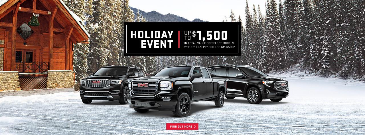 GMC-Trucks-SUVs-Holiday-Event-Discount-Sale-Ajax-Pickering-Durham-Region-Whitby-Oshawa-Toronto