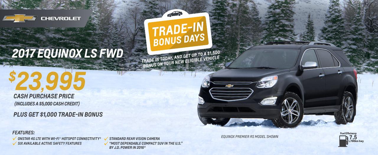 Equinox LS FWD Trade-In Days VanDusen Chevrolet Buick GMC