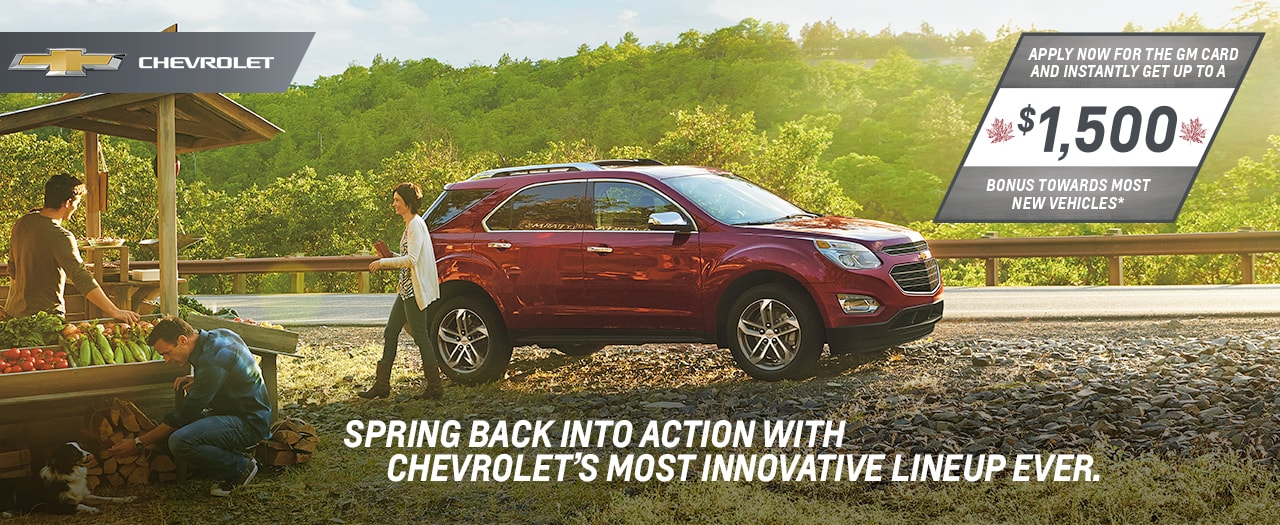 2017 Chevrolet Equinox May Specials in Ajax Durham Toronto
