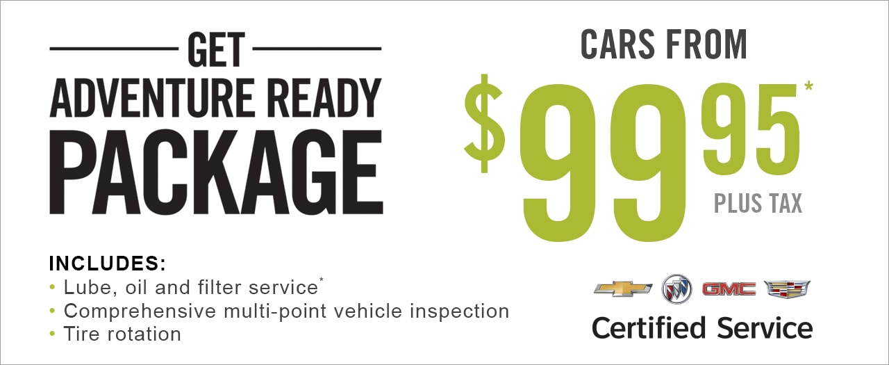 Service Specials Adventure Ready Package  Oil Change Tire Rotation Multi Point Inspection Cars Trucks SUV in Ajax Durham Region