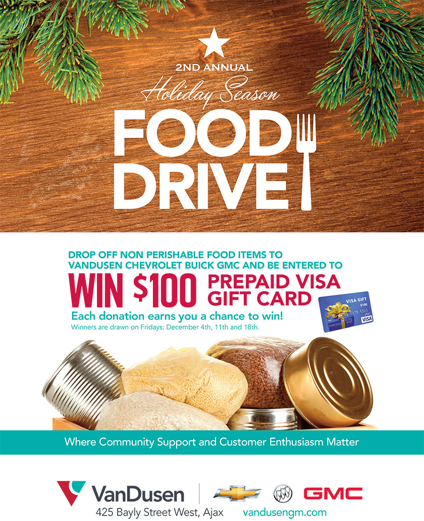 VanDusen GM Food Drive