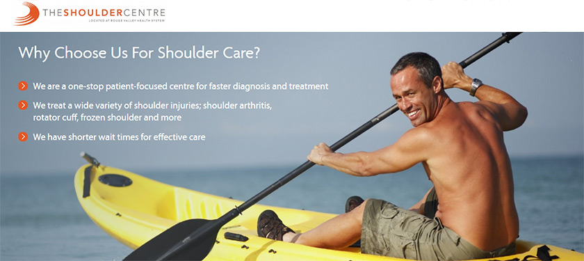 The Shoulder Centre at Rouge Valley Health System