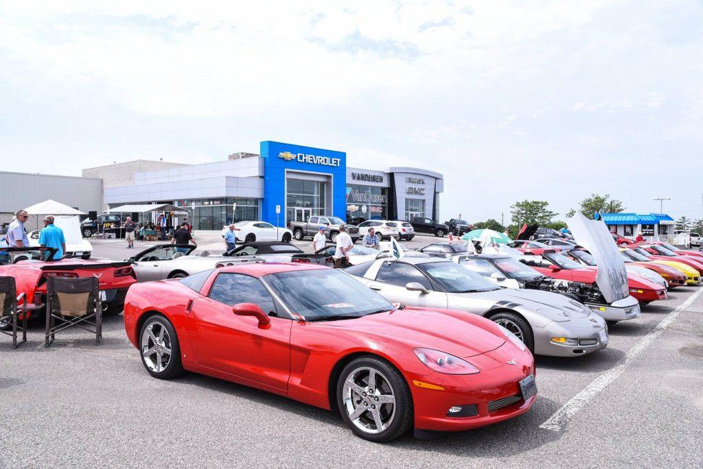 Pine Ridge Corvette Club VanDusen Chevrolet Buick GMC Ajax Durham