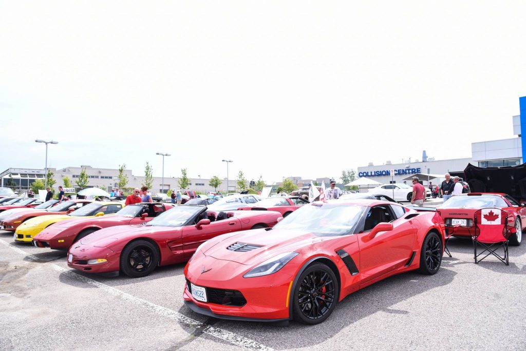 Pine Ridge Corvette Club VanDusen Chevrolet Buick GMC Ajax Durham Region