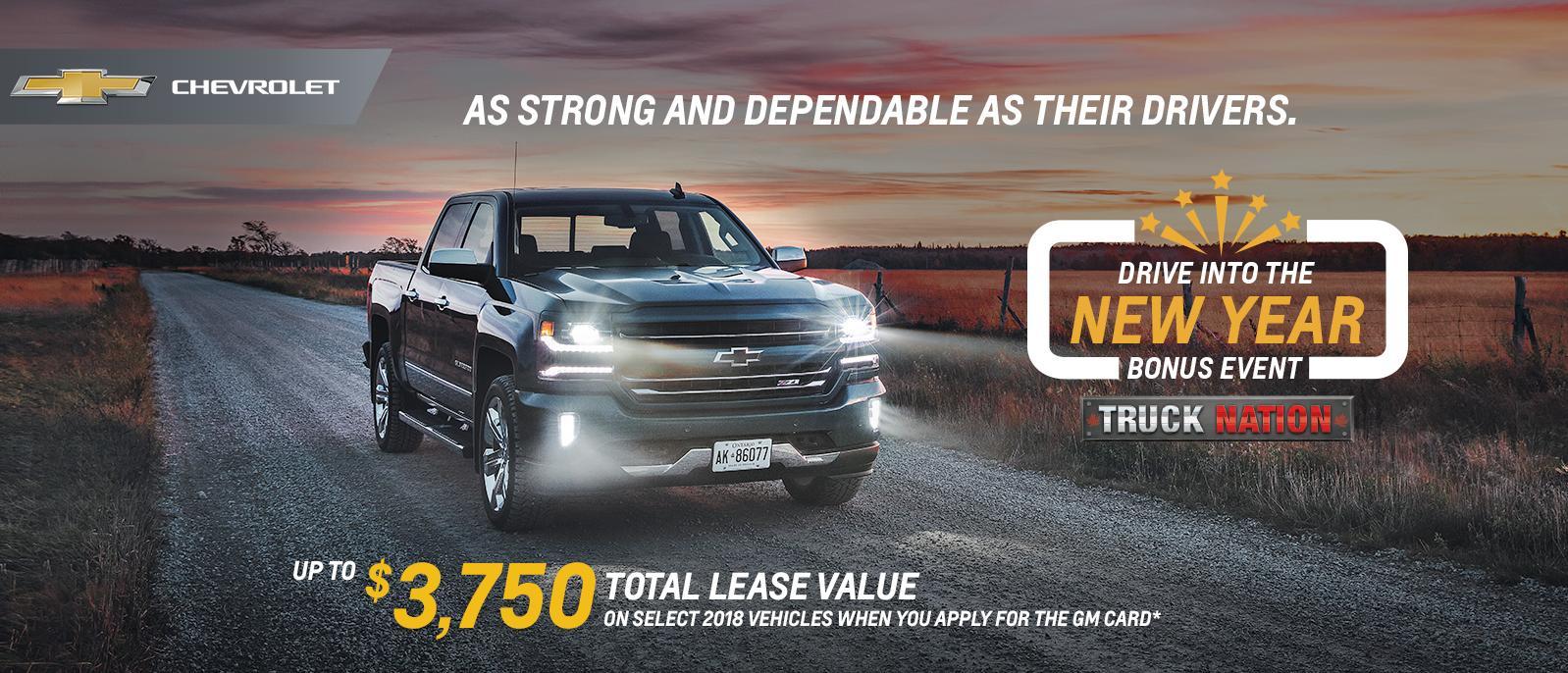 2018 Chevrolet Silverado Drive into the New Year Ajax Pickering Whitby Oshawa Clarington Durham Region Toronto Ontario