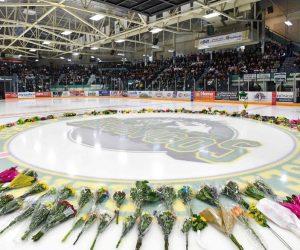 Humboldt-Strong-Hockey-Stick-Arena-Flowers-Ajax-VanDusen-Ontario