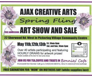 Ajax Creative Arts Spring Fling