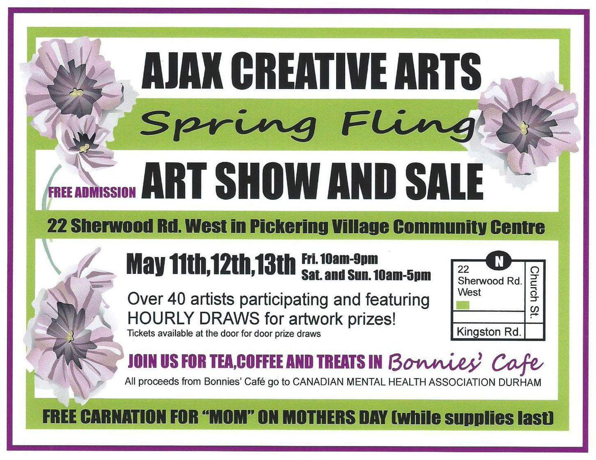 Ajax Creative Arts Spring Fling