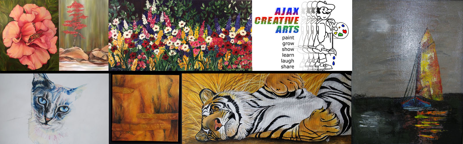 Ajax Creative Arts Banner