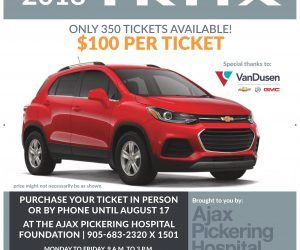 CarRaffle Ajax Pickering Hospital Foundation Durham Region