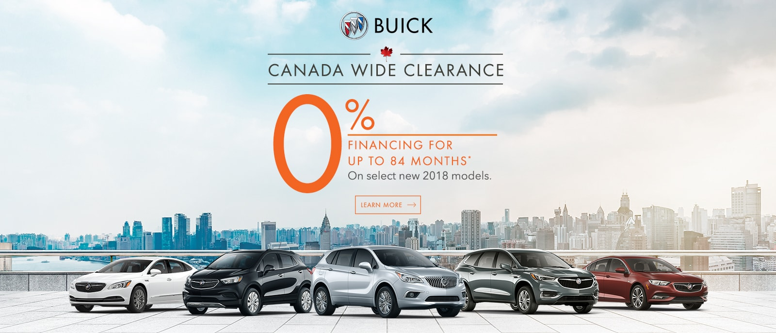 Canada Wide Clearance Cash 0% Financing up to 84 Months Buick Encore Enclave Envision Regal Sportback Ajax VanDusen Durham Region 1600x686-min
