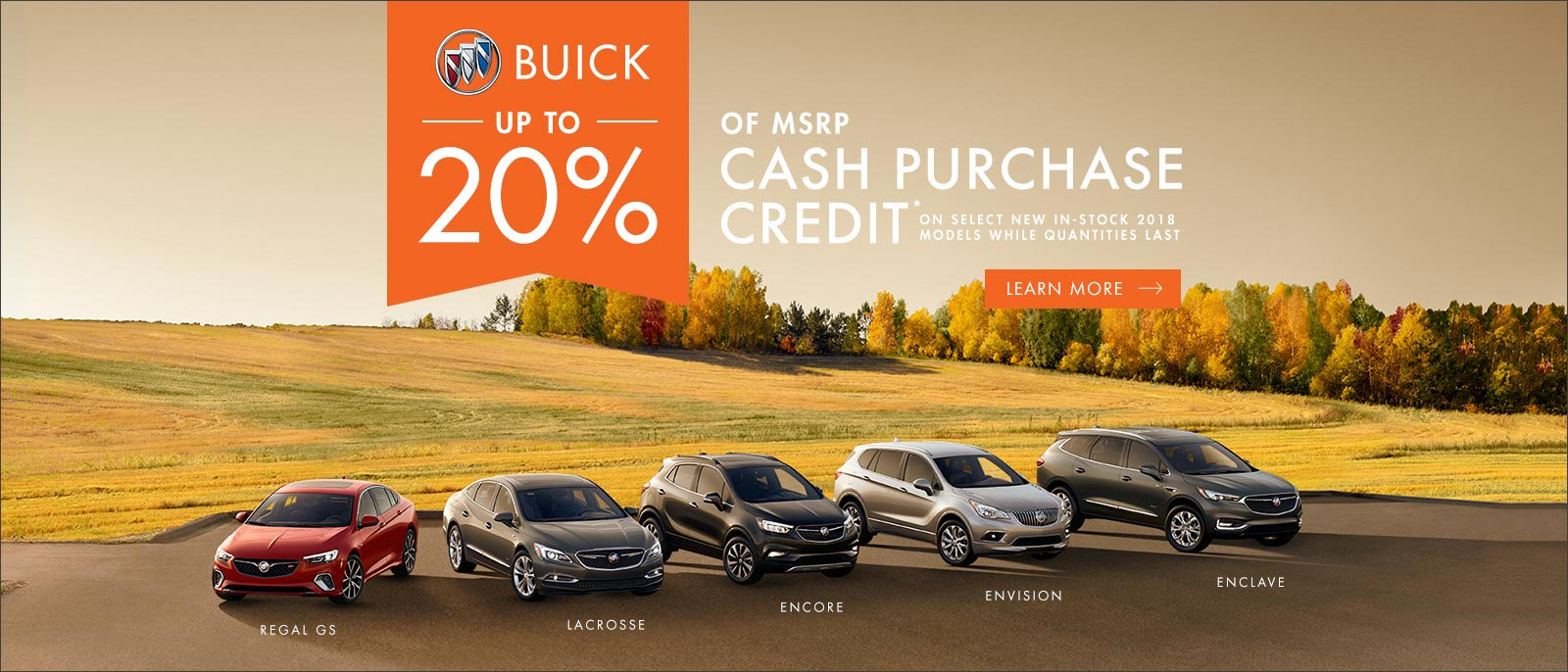 Buick Encore Enclave Envision Up to 20% of MSRP VanDusen Ajax Pickering whitby Oshawa Durham Region