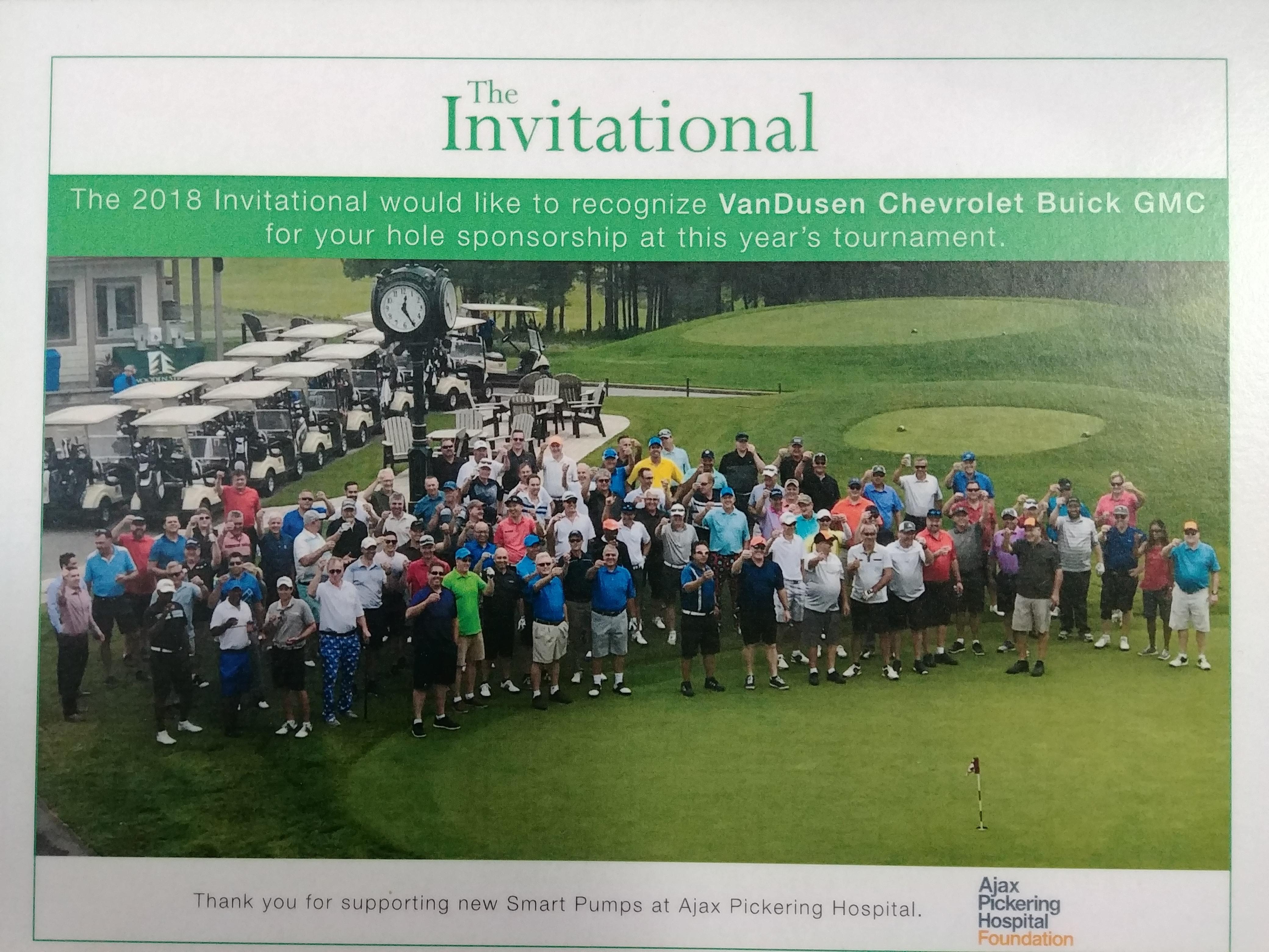 2018 Invitational Golf Tournament