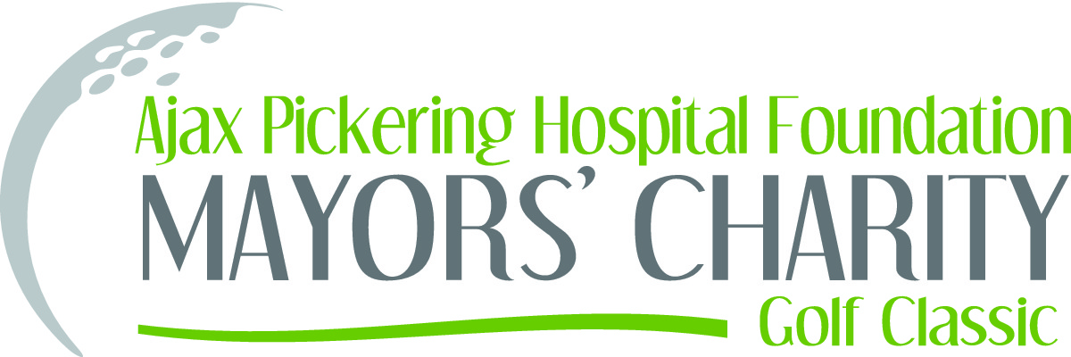 Ajax Pickering Hospital Foundation Mayors' Charity Golf Classic Logo