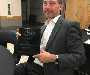 2019 Ajax Community Awards Jim VanDusen Silver Sponsor