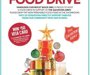 VanDusen Holiday Food Drive 2018 Ajax Ontario