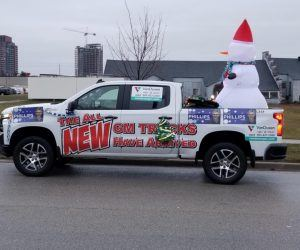 Ajax Santa Clause Parade VanDusen Chevrolet Buick GMC Ontario