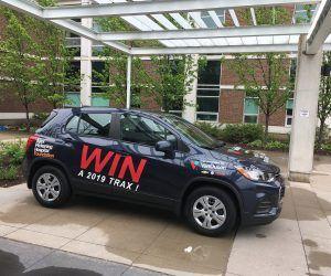 Win a 2019 Chevrolet Trax