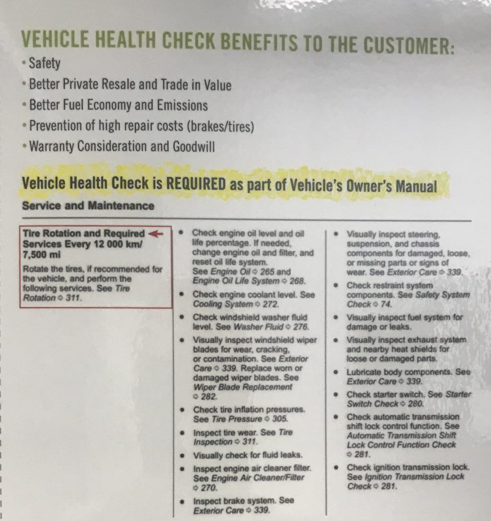 What is a vehicle health check and is it mandatory?