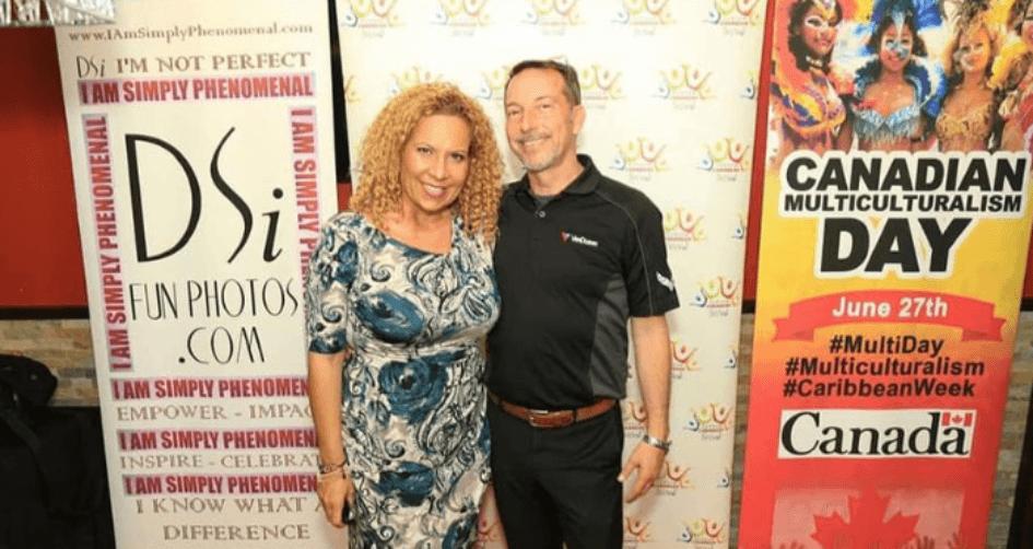Mary Galvan - President Durham Caribbean Festival & Jim VanDusen