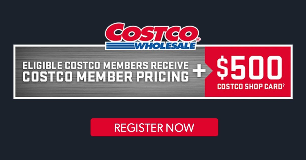 Eligible Costco Members get special pricing at VanDusen Chevrolet Buick GMC on select SUV models